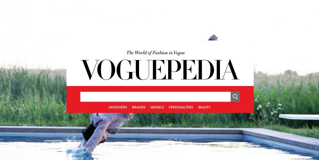 Voguepedia: il nuovo dizionario della moda