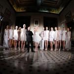 Luigi Borbone, ad AltaRoma la couture riparte dal bianco