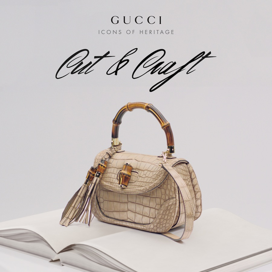 Gucci Icons of Heritage: Cut&Craft
