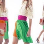 La moda in technicolor. First touch by Quattromani