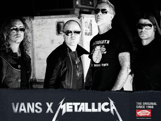 VANS for Metallica