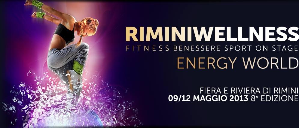 Hit sportive e novità dal mondo del benessere: a Rimini Wellness l'energia prende corpo