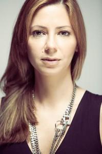 Nella foto, la designer Giuliana Mancinelli Bonafaccia
