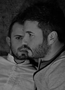 Nella foto, Massimo Noli e Nicola Frau, designer del brand Quattromani