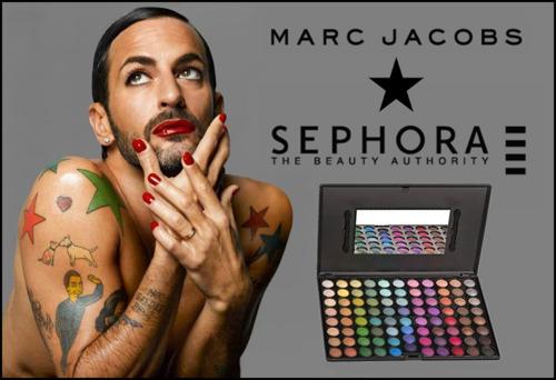 Special Beauty Collection: Marc Jacobs firma la sua linea di make-up insieme a Sephora