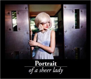 Portrait of a Sheer Lady: se a sedurre sono i capelli