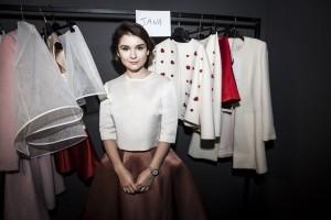Nella foto la designer del brand Esme Vie,Julia Voitenko ,Ph. Allucinazione
