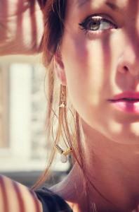 Nella foto Elisa Zeppilli, fondatrice del brand Fluttuo