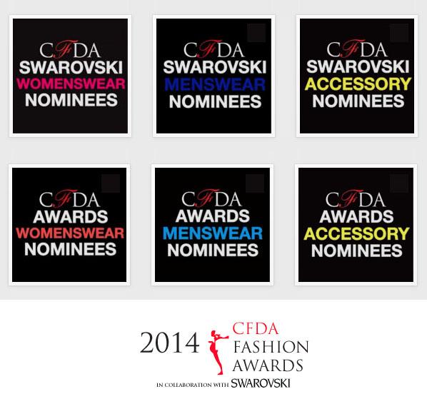 CFDA Fashion Awards 2014: le nomination per gli Oscar della moda americana