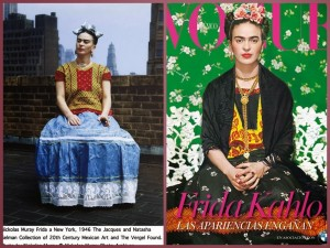frida kahlo vogue