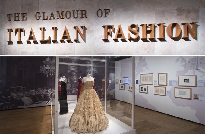 """""""The Glamour of Italian Fashion 1945-2014″: il Victorian and Albert Museum festeggia i 70 anni della moda Italiana."""