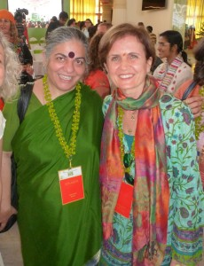 Con Vandana Shiva