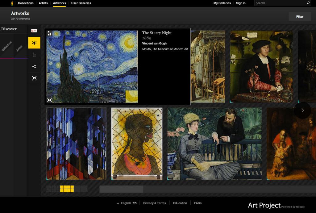 Google Art Project: quando l'arte diventa digitale
