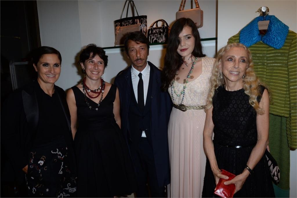 Maria Grazia Chiuri, Assessore Leonori, Pierpaolo Piccioli, Teresa Maccapani Missoni e Franca Sozzani - © SGP