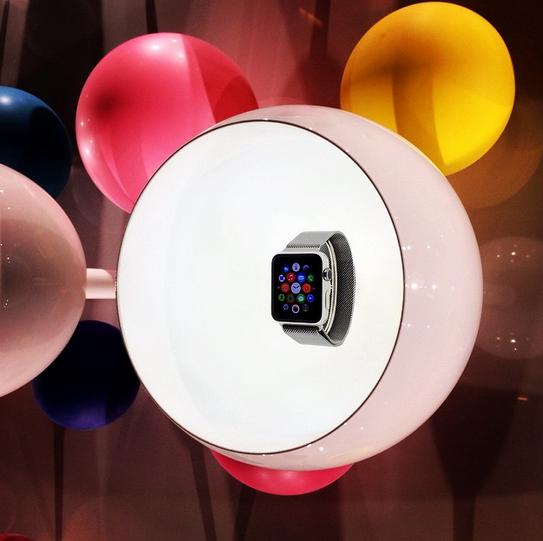 Esposizione Apple Watch da Colette - Parigi