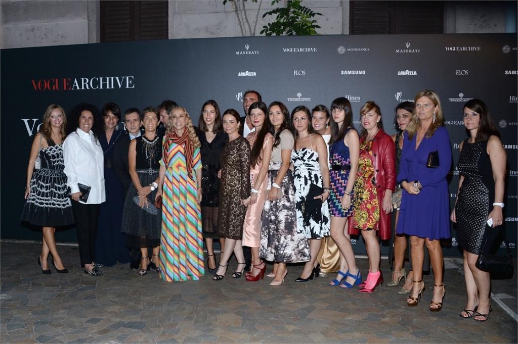 50th anniversary of fashion vogue italia festeggia il suo for Redazione italia