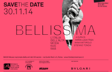 """Storia, Glamour e Arte in mostra al Maxxi: """"Bellissima – L'Italia dell'Alta Moda 1945-1968″"""
