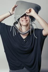 Nella foto la designer Federica Gatti. Courtesy of Studio DModa