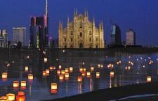 La notte delle lanterne. Un messaggio di pace per Milano