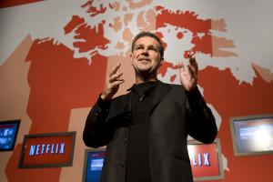 Il CEO di Netflix Reed Hastings. (Credits thestar.com)