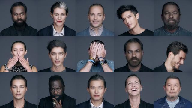 I protagonisti del digital project di Pitti Uomo 89 (Credits e-pitti.com)