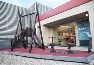 Il parco giochi di Gentlemen's playground by M&C Saatchi e MINI.