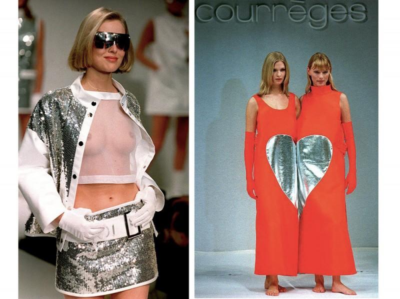 Addio ad andr courr ges stilista visionario e genio for Stilista francese famoso