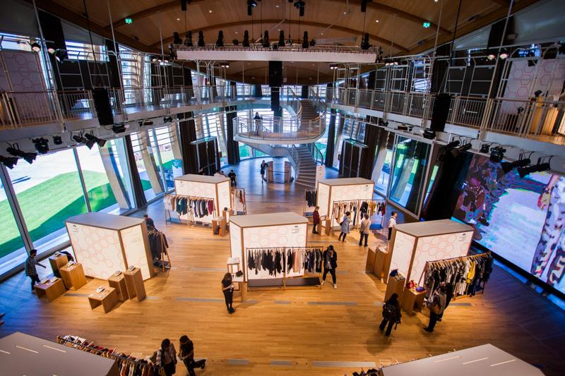 Il Fashion Hub Market presso lo UniCredit Pavillon