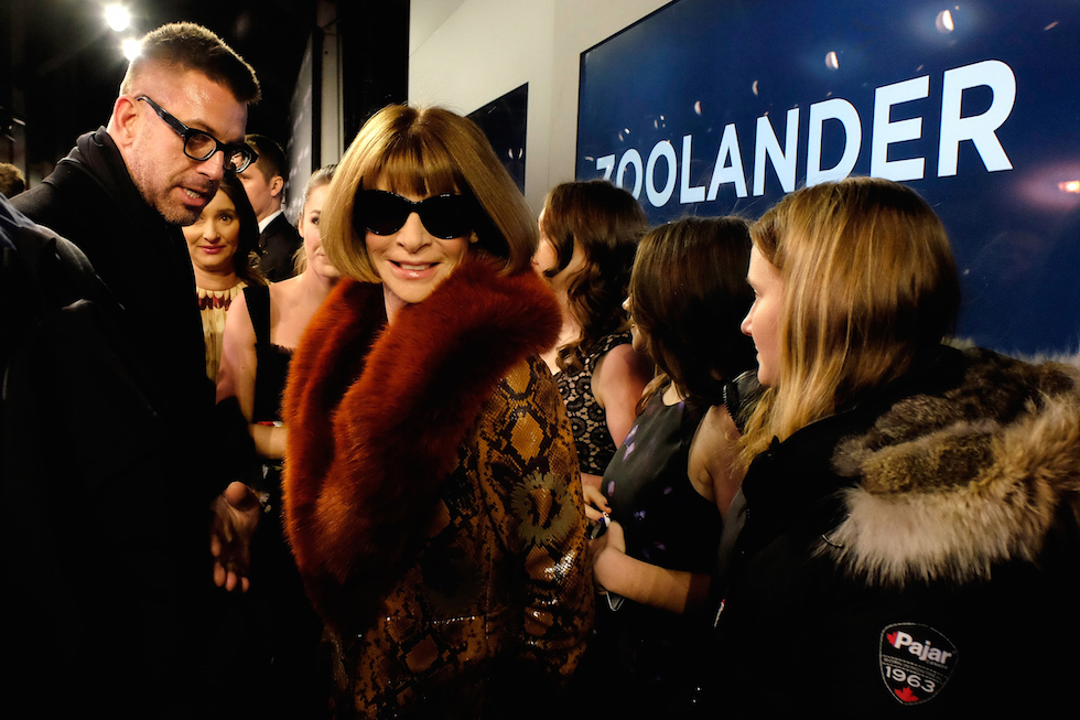 Anna Wintour alla prima di Zoolander 2 a New York  (Frazer Harrison/Getty Images for Paramount)