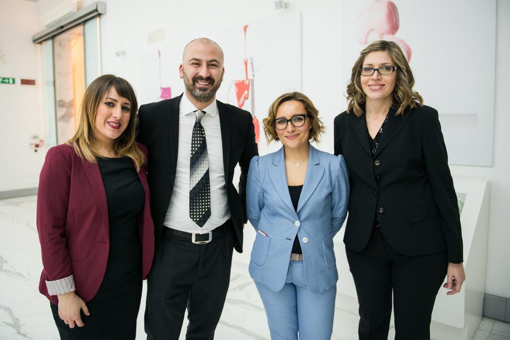 I sostenitori della Cieffe con Barbara Molinario e Sara Colletti - Courtesy of Press Office FNM Events