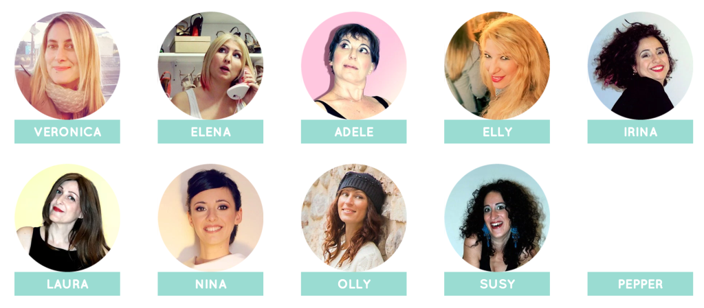 Le Coach di Stiletto Academy (stilettoacademy.it)