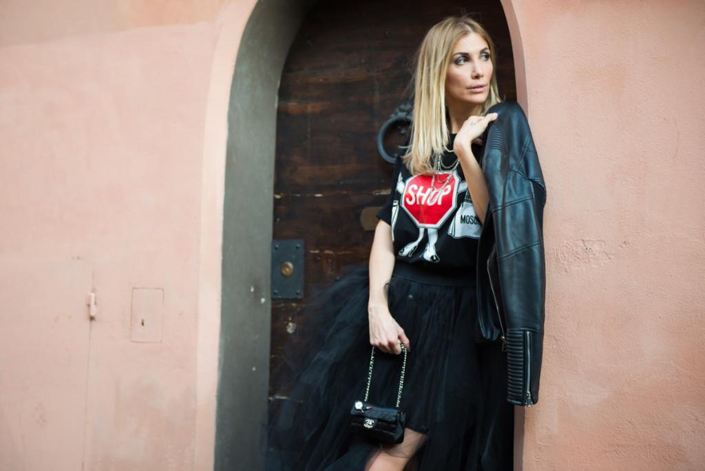 la fashion blogger benedetta rossi
