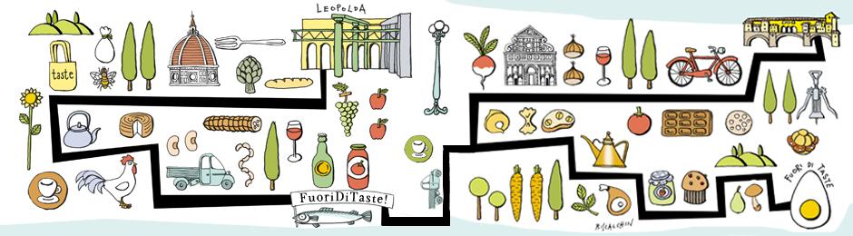 Fuori di Taste - un percorso illustrato (ph. Pitti)