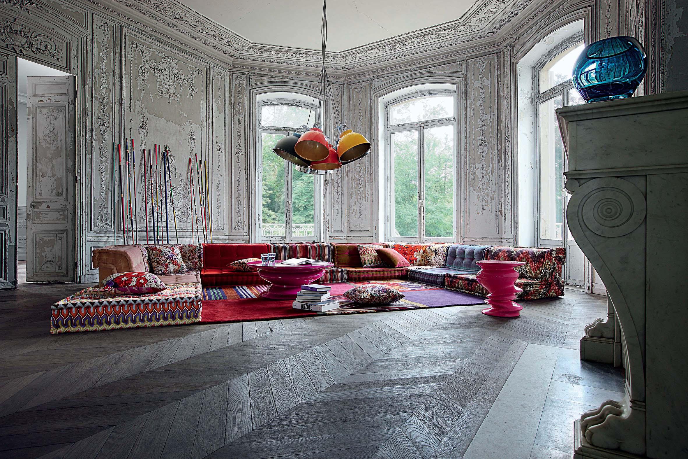 Joyeux anniversaire Roche Bobois! Il design francese esplode a Roma ...