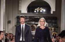 Maria Grazia Chiuri e Pier Paolo Piccioli - sfilata uomo SS17
