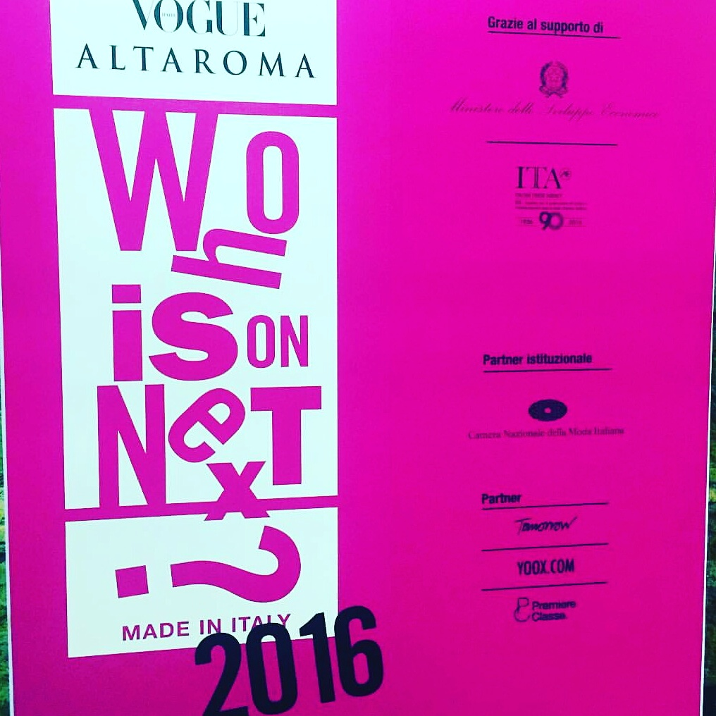 Who is On Next? Altaroma 2016