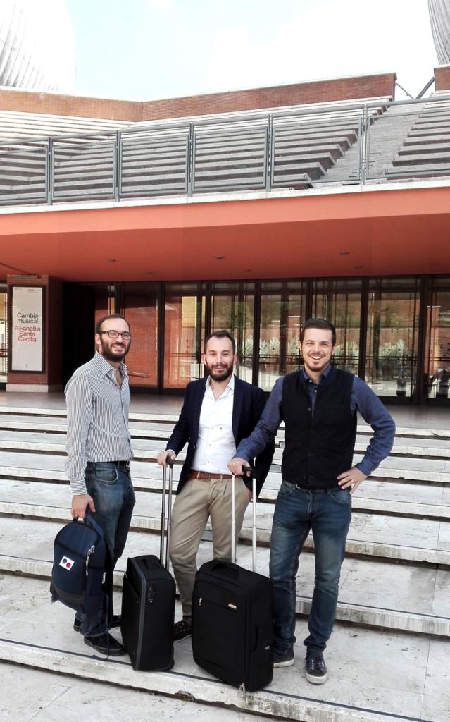 BAGBNB Nella foto gli ideatori_Giacomo-Alessandro-Giulio_ Courtesy of S/C Comunicazione