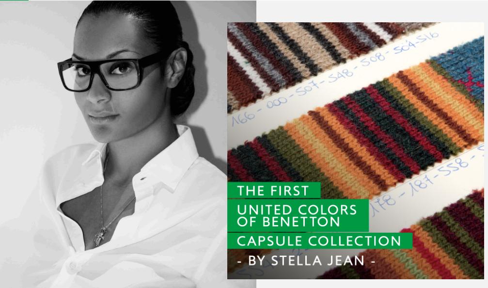 La moda è dialogo  Benetton e Stella Jean insieme per la prima ... 79f35500279