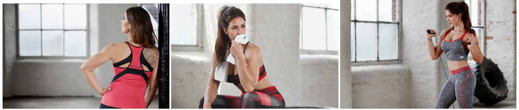 Courtesy of Myprotein Press Office - Linea Red Concrete Donna