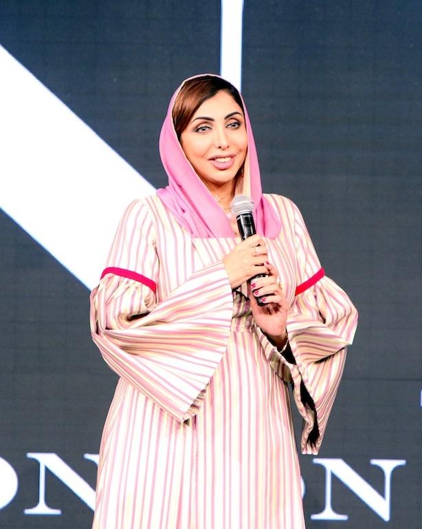 Nella foto H.E. Sheikha Hend Al Qassemi