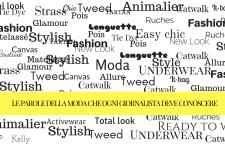 I termini della moda che un giornalista deve conoscere