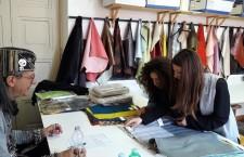 """All'Accademia Costume & Moda i giovani hanno """"stoffa"""" con il Fabrics Day"""