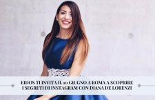 Comunicare la moda su Instagram, a Roma un workshop dedicato con Diana de Lorenzi