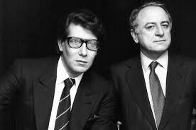 Yves Saint Laurent e Pierre Bergé