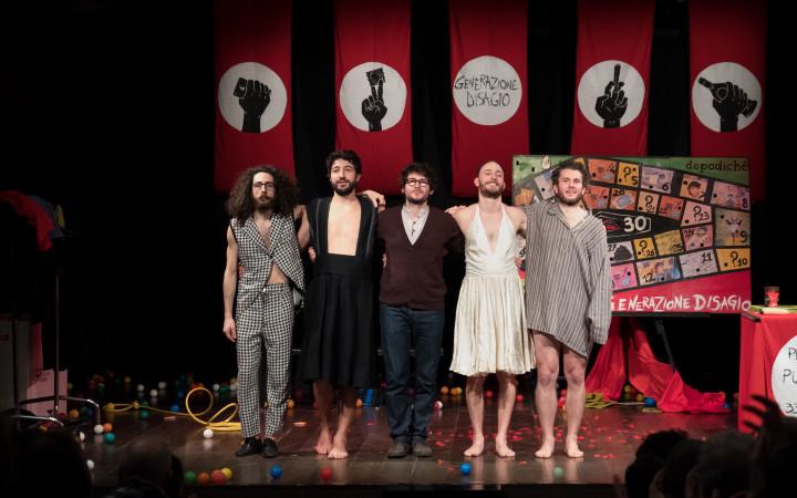 """Dopo il successo all'OFF OFF Theatre di Roma, torna al Gay Village la pièce """"Generazione Disagio"""""""
