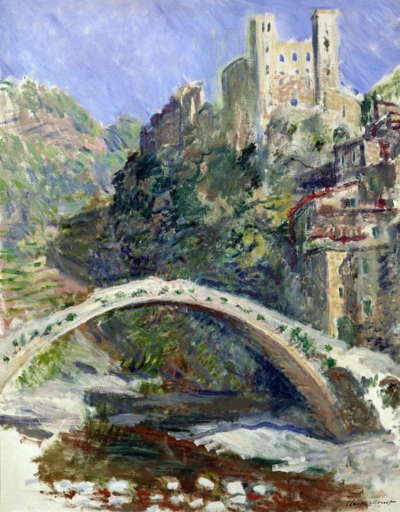 """L'impressionismo di Claude Monet """"ritorna in Riviera"""" con una mostra a Bordighera e Dolceacqua"""