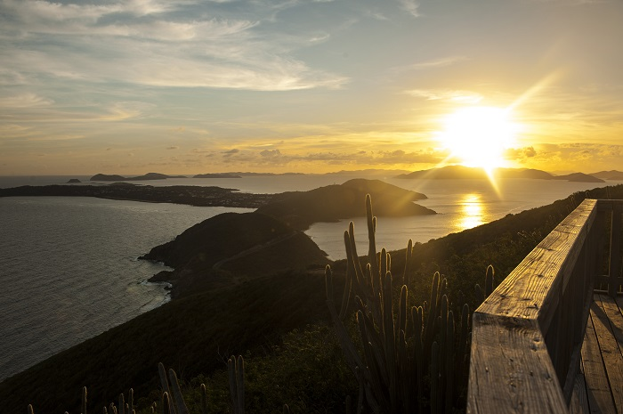 Sunset on Virgin Gorda, Courtesy of Press Office