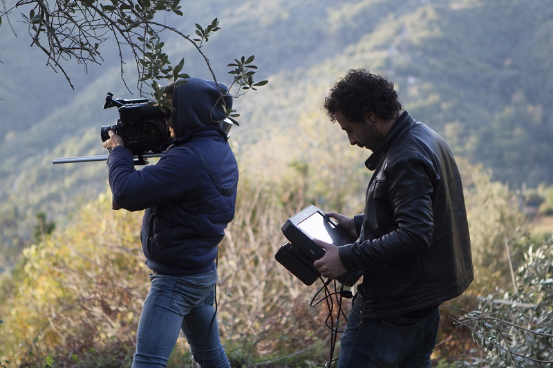 Backstage del cortometraggio Malum Aeterni_credits Courtesy of Press Office