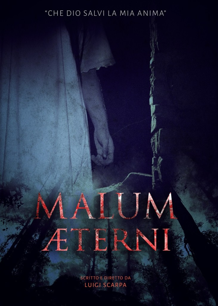 Locandina del cortometraggio Malum Aeterni_credits Courtesy of Press Office - horrible girl with scary mouth and eyes, extreme body-art