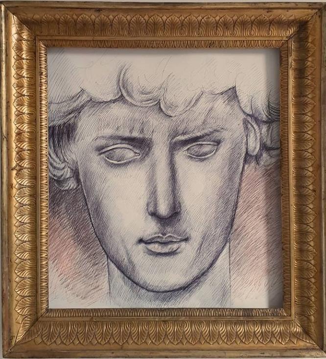 Roberto Di Costanzo_Studia da scultura dell'arte classica greca